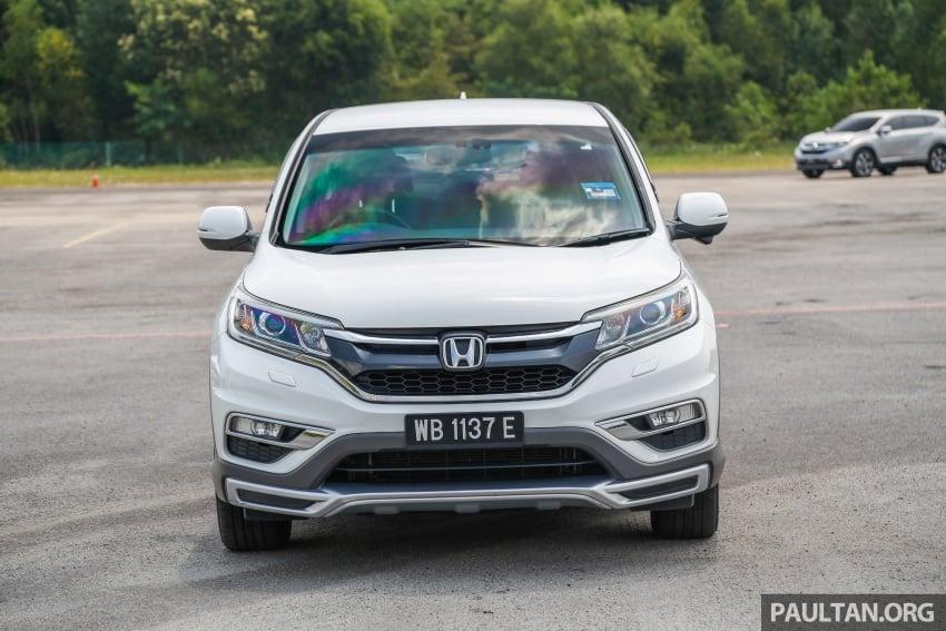 GALLERY: Honda CR-V – new 1.5L Turbo vs old 2.4L Image #673106