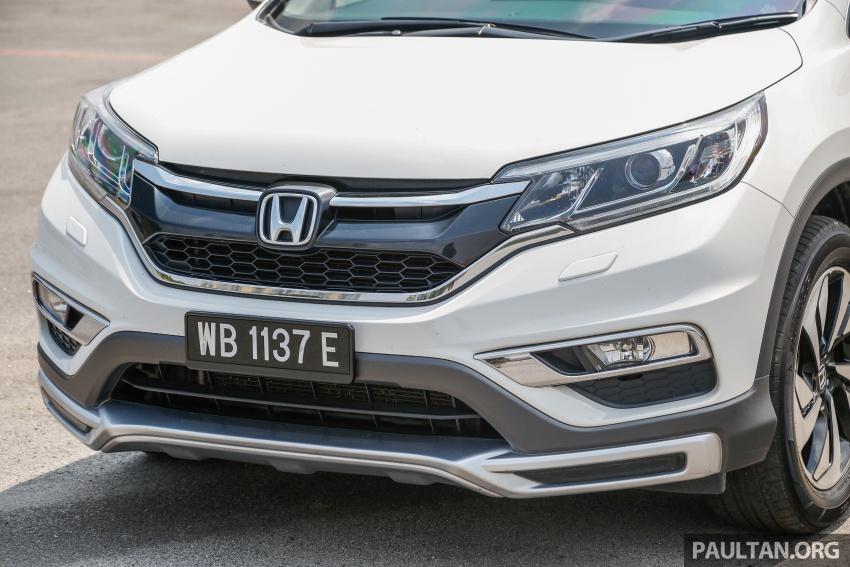 GALLERY: Honda CR-V – new 1.5L Turbo vs old 2.4L Image #673109
