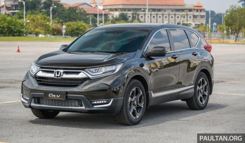 Honda CR-V 2017 – bagaimana ciri keselamatan Honda Sensing berfungsi dan dapat membantu pemanduan Image #673180