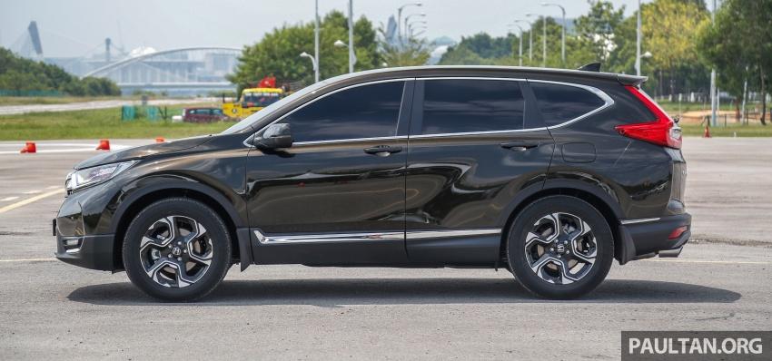 Honda CR-V 2017 – bagaimana ciri keselamatan Honda Sensing berfungsi dan dapat membantu pemanduan Image #673189