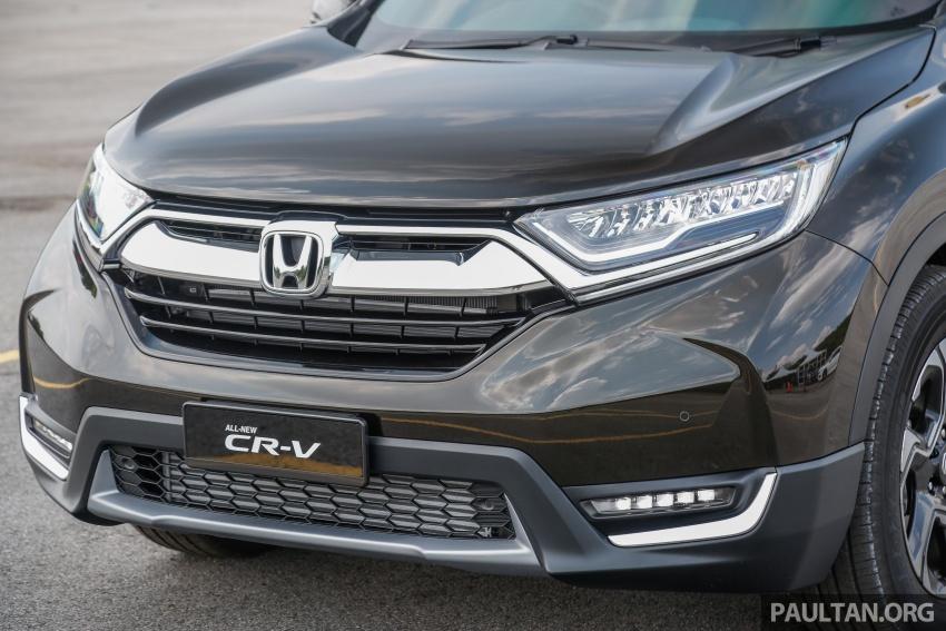 Honda CR-V 2017 – bagaimana ciri keselamatan Honda Sensing berfungsi dan dapat membantu pemanduan Image #673193
