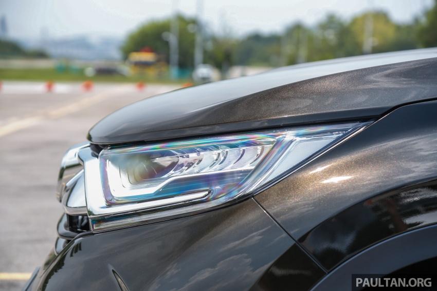 Honda CR-V 2017 – bagaimana ciri keselamatan Honda Sensing berfungsi dan dapat membantu pemanduan Image #673196