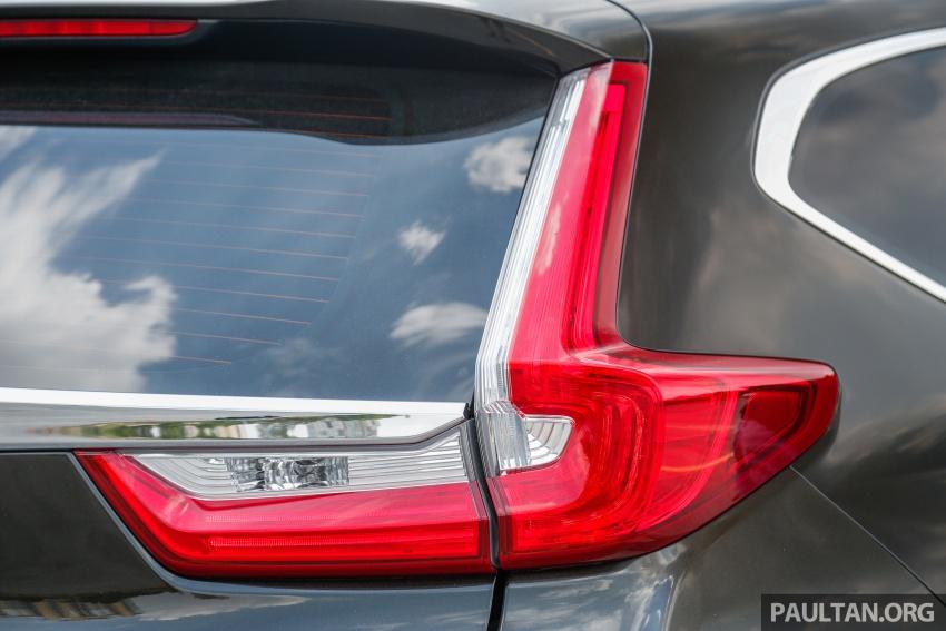Honda CR-V 2017 – bagaimana ciri keselamatan Honda Sensing berfungsi dan dapat membantu pemanduan Image #673208