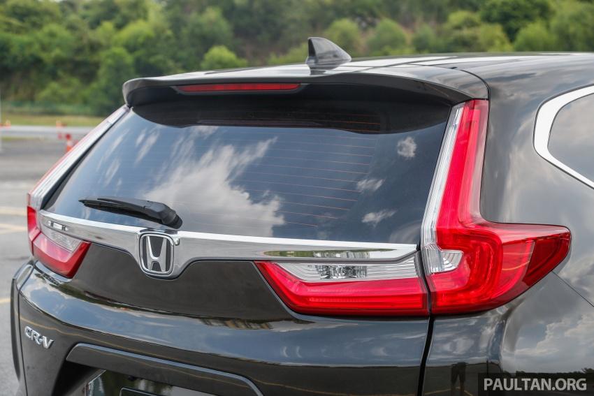 Honda CR-V 2017 – bagaimana ciri keselamatan Honda Sensing berfungsi dan dapat membantu pemanduan Image #673209