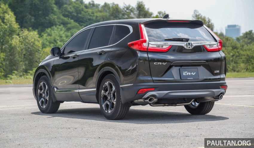 Honda CR-V 2017 – bagaimana ciri keselamatan Honda Sensing berfungsi dan dapat membantu pemanduan Image #673183