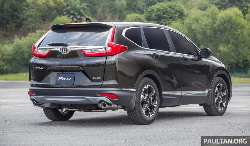 Honda CR-V 2017 – bagaimana ciri keselamatan Honda Sensing berfungsi dan dapat membantu pemanduan Image #673185