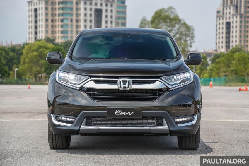 Honda CR-V 2017 – bagaimana ciri keselamatan Honda Sensing berfungsi dan dapat membantu pemanduan Image #673187