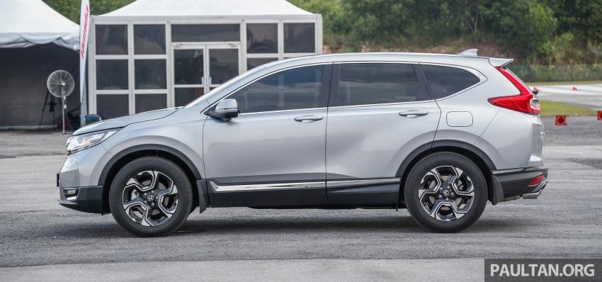 Honda CR-V 2017 – bagaimana ciri keselamatan Honda Sensing berfungsi dan dapat membantu pemanduan Image #673247