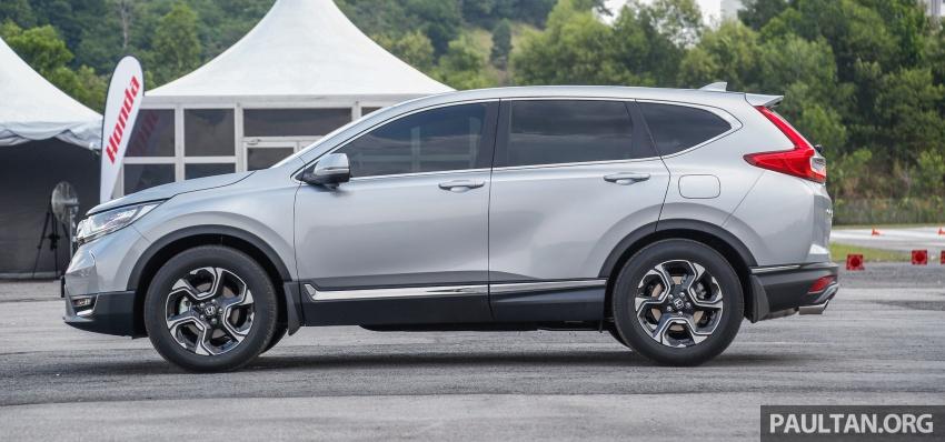 Honda CR-V 2017 – bagaimana ciri keselamatan Honda Sensing berfungsi dan dapat membantu pemanduan Image #673248