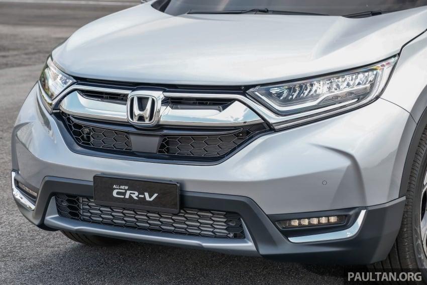 Honda CR-V 2017 – bagaimana ciri keselamatan Honda Sensing berfungsi dan dapat membantu pemanduan Image #673249