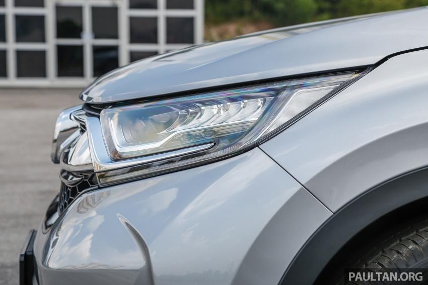 Honda CR-V 2017 – bagaimana ciri keselamatan Honda Sensing berfungsi dan dapat membantu pemanduan Image #673251