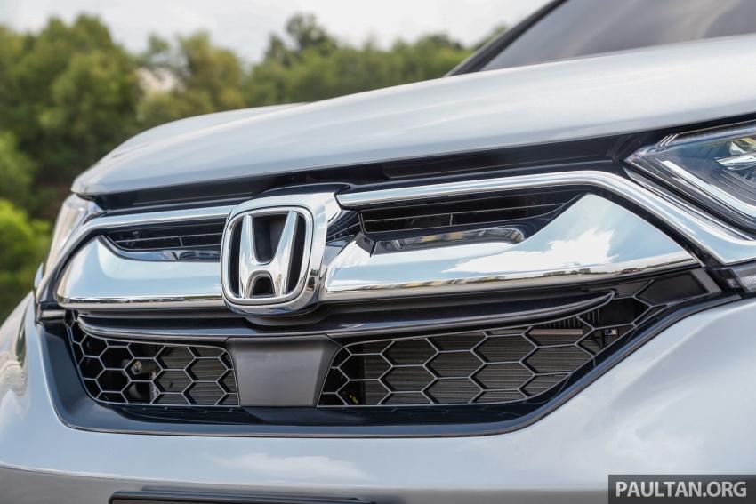 Honda CR-V 2017 – bagaimana ciri keselamatan Honda Sensing berfungsi dan dapat membantu pemanduan Image #673253