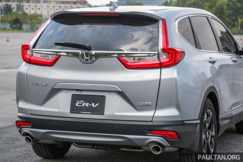 Honda CR-V 2017 – bagaimana ciri keselamatan Honda Sensing berfungsi dan dapat membantu pemanduan Image #673258