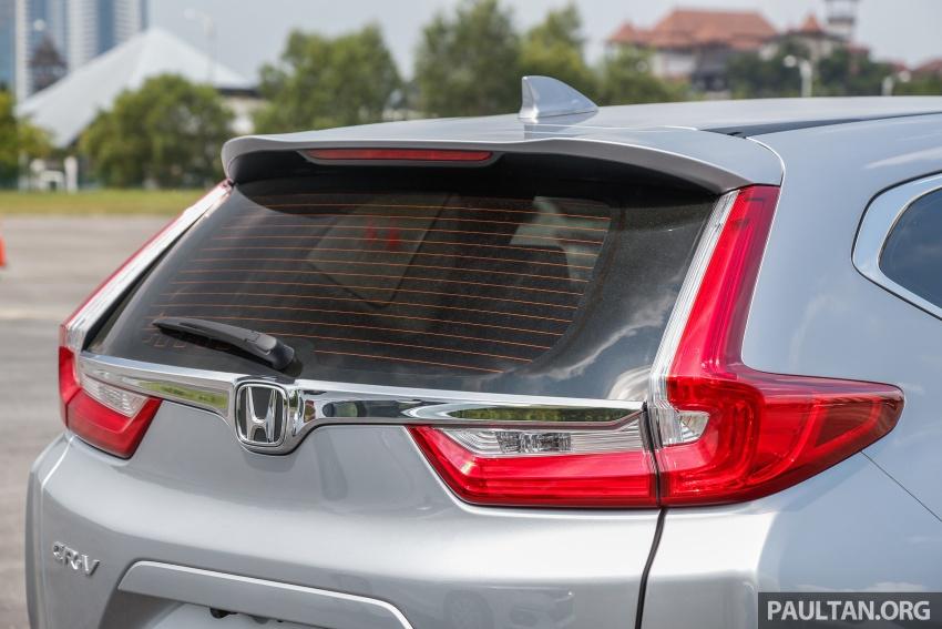 Honda CR-V 2017 – bagaimana ciri keselamatan Honda Sensing berfungsi dan dapat membantu pemanduan Image #673260