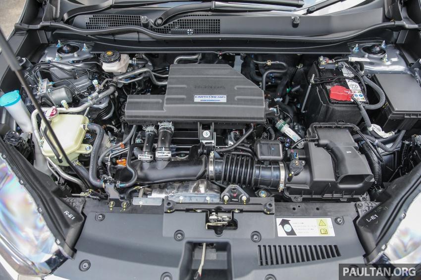 Honda CR-V 2017 – bagaimana ciri keselamatan Honda Sensing berfungsi dan dapat membantu pemanduan Image #673263