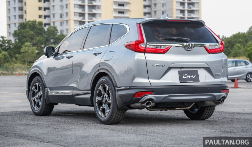 Honda CR-V 2017 – bagaimana ciri keselamatan Honda Sensing berfungsi dan dapat membantu pemanduan Image #673235