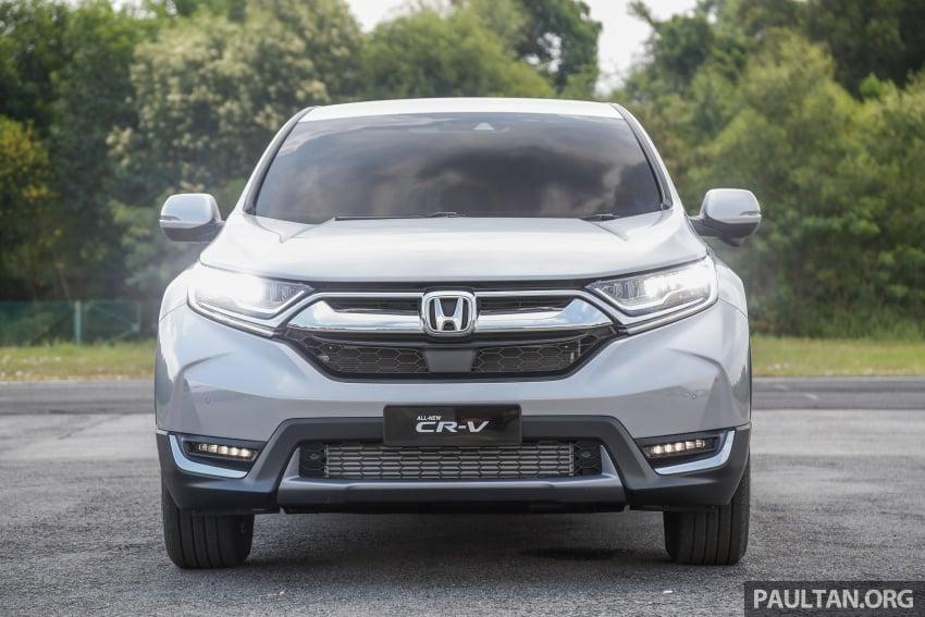 Honda CR-V 2017 – bagaimana ciri keselamatan Honda Sensing berfungsi dan dapat membantu pemanduan Image #673241