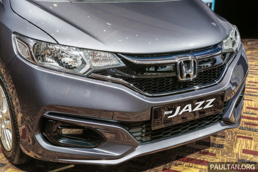2017 Honda Jazz facelift launched in Malaysia – 1.5L and Sport Hybrid i-DCD variants, from RM74,800 Image #669369