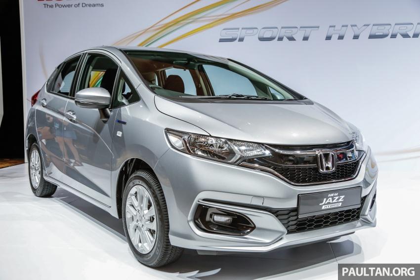 Honda Jazz 2017 dilancarkan di Malaysia – varian 1.5L termasuk Sports Hybrid i-DCD, dari RM74,800 Image #669597
