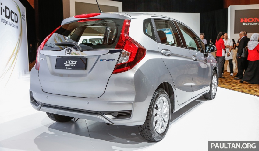 2017 Honda Jazz facelift launched in Malaysia – 1.5L and Sport Hybrid i-DCD variants, from RM74,800 Image #669395