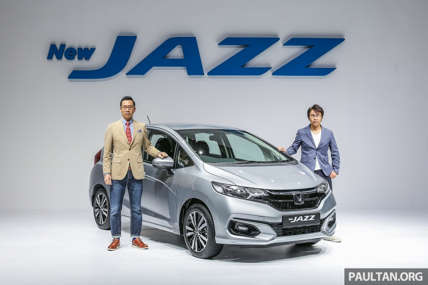 2017 Honda Jazz facelift launched in Malaysia – 1.5L and Sport Hybrid i-DCD variants, from RM74,800 Image #669280