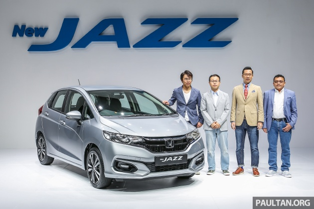 Previewed Last Month, The 2017 Honda Jazz Facelift Has Just Been Officially  Launched At The KL Convention Centre. This Midlife U0027minor Changeu0027 Comes  Three ...