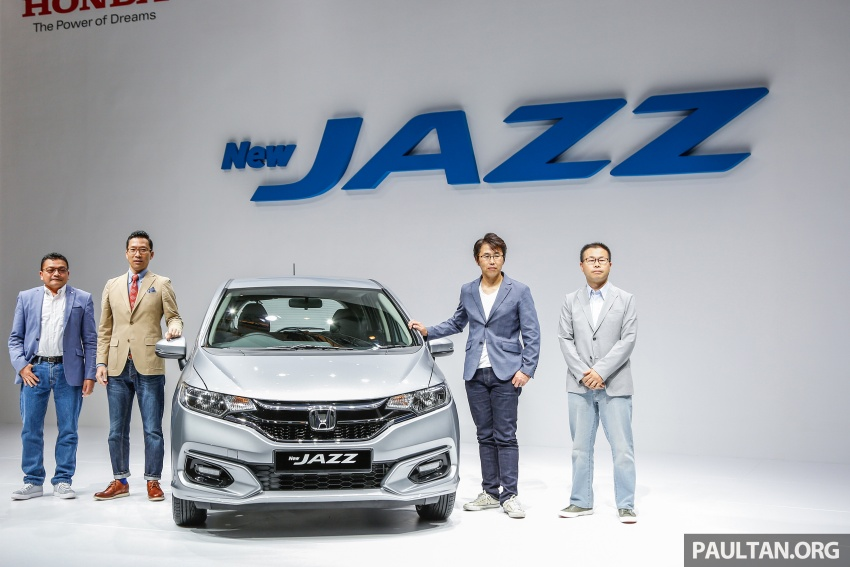 2017 Honda Jazz facelift launched in Malaysia – 1.5L and Sport Hybrid i-DCD variants, from RM74,800 Image #669283