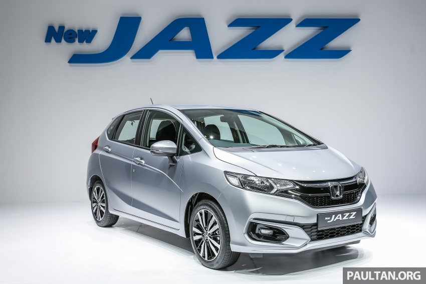 2017 Honda Jazz facelift launched in Malaysia – 1.5L and Sport Hybrid i-DCD variants, from RM74,800 Image #669284
