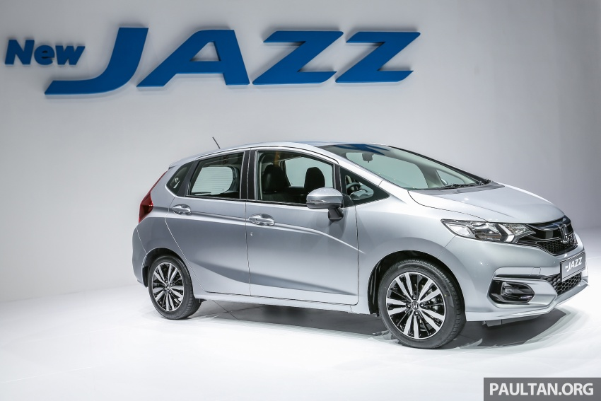 2017 Honda Jazz facelift launched in Malaysia – 1.5L and Sport Hybrid i-DCD variants, from RM74,800 Image #669452