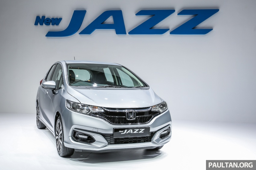 2017 Honda Jazz facelift launched in Malaysia – 1.5L and Sport Hybrid i-DCD variants, from RM74,800 Image #669286