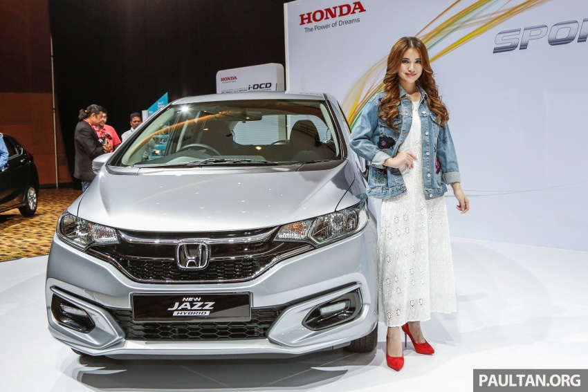 2017 Honda Jazz facelift launched in Malaysia – 1.5L and Sport Hybrid i-DCD variants, from RM74,800 Image #669288