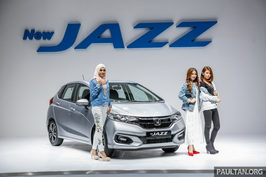 2017 Honda Jazz facelift launched in Malaysia – 1.5L and Sport Hybrid i-DCD variants, from RM74,800 Image #669458