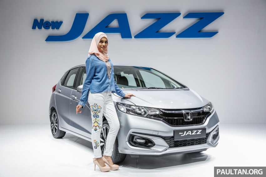 2017 Honda Jazz facelift launched in Malaysia – 1.5L and Sport Hybrid i-DCD variants, from RM74,800 Image #669460