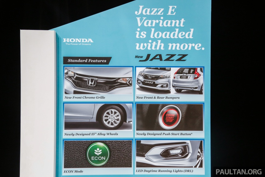 2017 Honda Jazz facelift launched in Malaysia – 1.5L and Sport Hybrid i-DCD variants, from RM74,800 Image #669470
