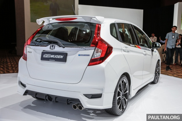 2017 Honda Jazz facelift - Mugen prototype with bodykit, accessories makes debut in Malaysia