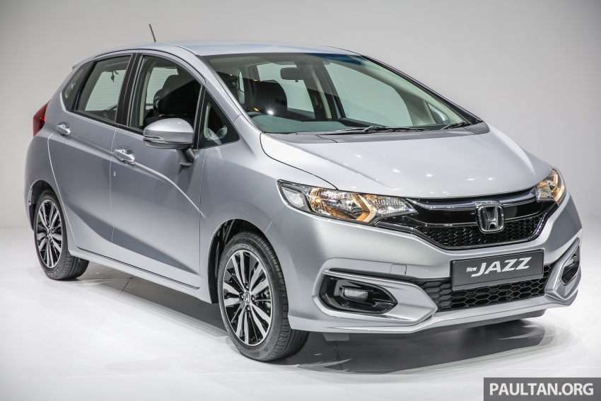 2017 honda jazz facelift launched in malaysia 1 5l and sport hybrid i dcd variants from rm74. Black Bedroom Furniture Sets. Home Design Ideas