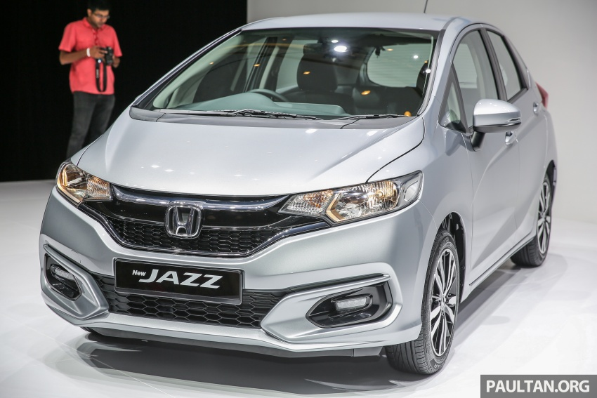 2017 Honda Jazz facelift launched in Malaysia – 1.5L and Sport Hybrid i-DCD variants, from RM74,800 Image #669526