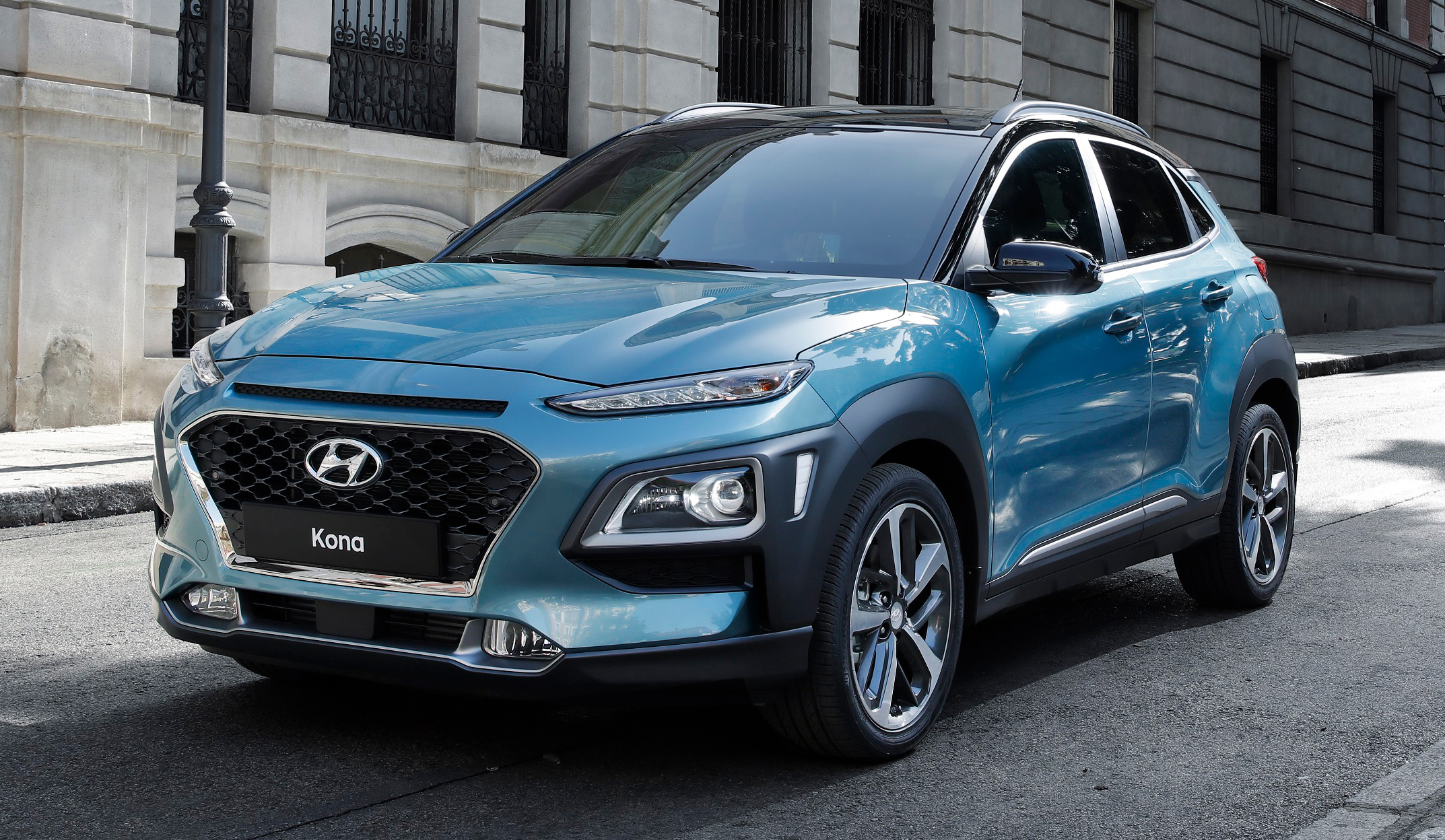 hyundai kona compact suv for millennials revealed. Black Bedroom Furniture Sets. Home Design Ideas