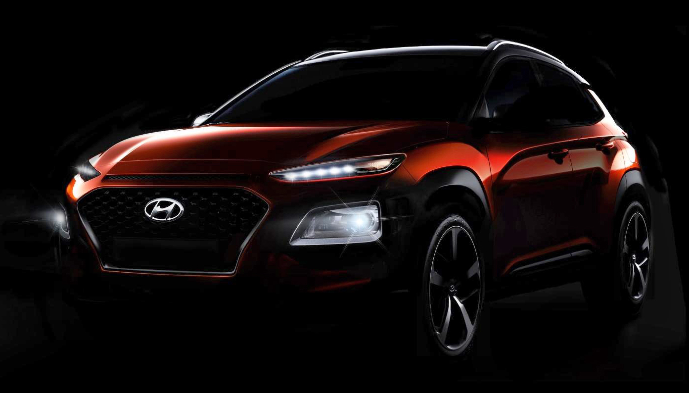 hyundai kona new b segment suv officially revealed. Black Bedroom Furniture Sets. Home Design Ideas