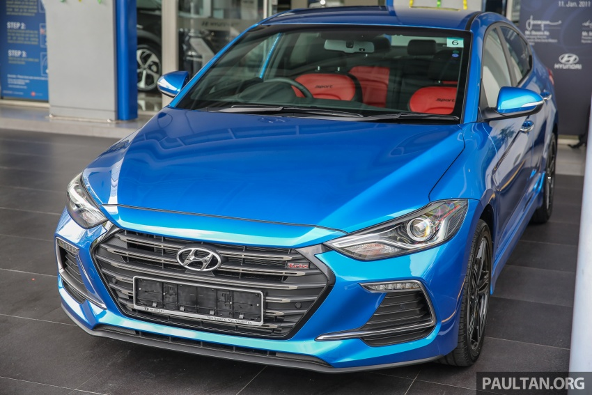 2017 Hyundai Elantra AD launched in Malaysia – 1.6 Turbo, 2.0 NA, three variants, from RM116k Image #671084