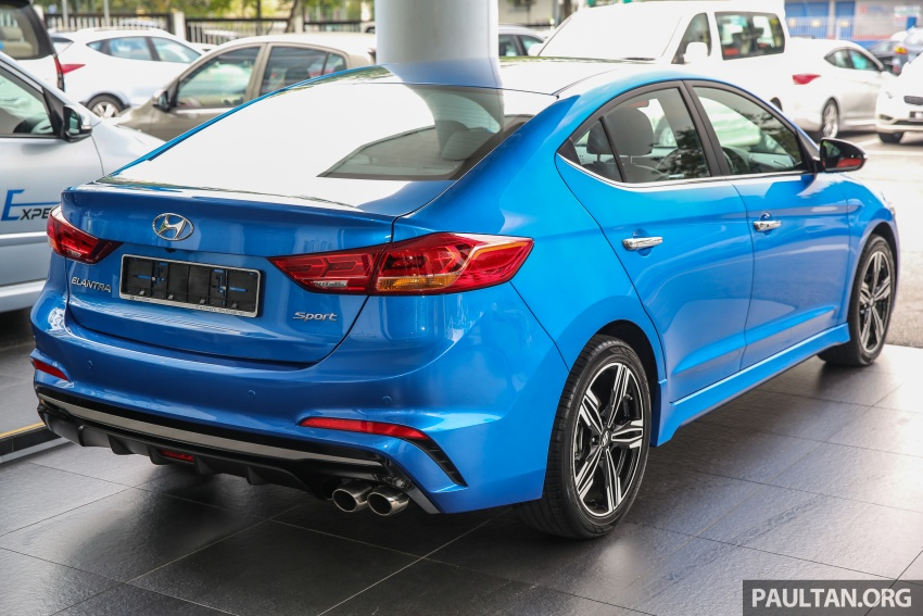 2017 Hyundai Elantra AD launched in Malaysia – 1.6 Turbo, 2.0 NA, three variants, from RM116k Image #671085