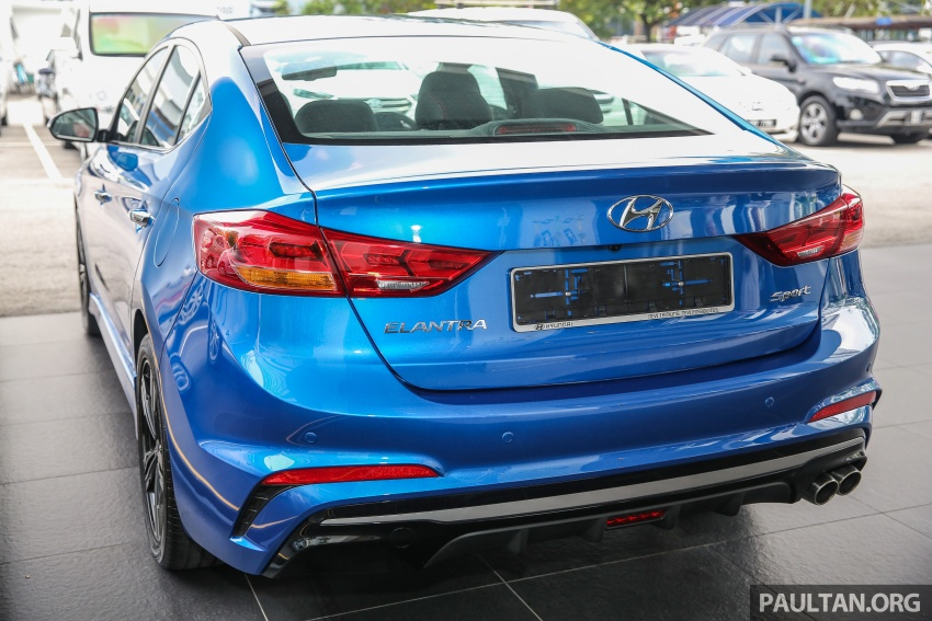 2017 Hyundai Elantra AD launched in Malaysia – 1.6 Turbo, 2.0 NA, three variants, from RM116k Image #671086