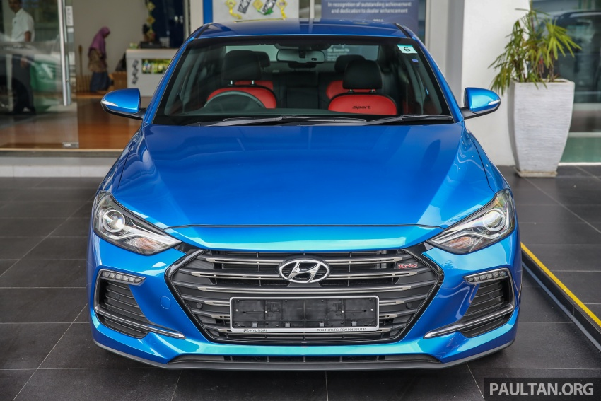2017 Hyundai Elantra AD launched in Malaysia – 1.6 Turbo, 2.0 NA, three variants, from RM116k Image #671087