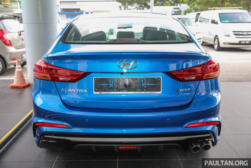 2017 Hyundai Elantra AD launched in Malaysia – 1.6 Turbo, 2.0 NA, three variants, from RM116k Image #671088