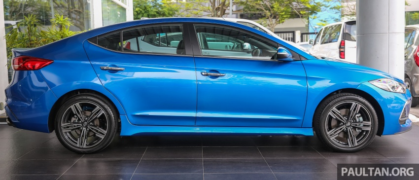 2017 Hyundai Elantra AD launched in Malaysia – 1.6 Turbo, 2.0 NA, three variants, from RM116k Image #671089