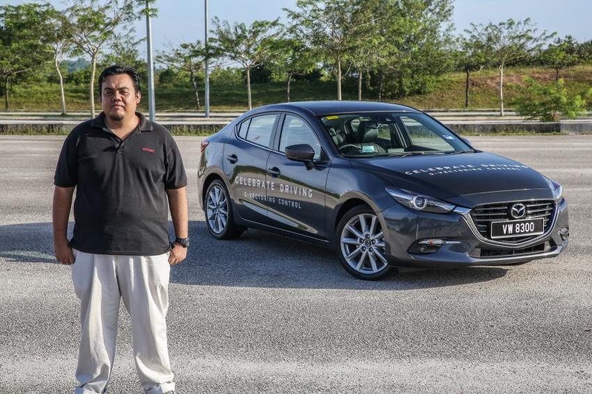 ULASAN VIDEO: Mazda 3 facelift 2017 dengan GVC Image #671499