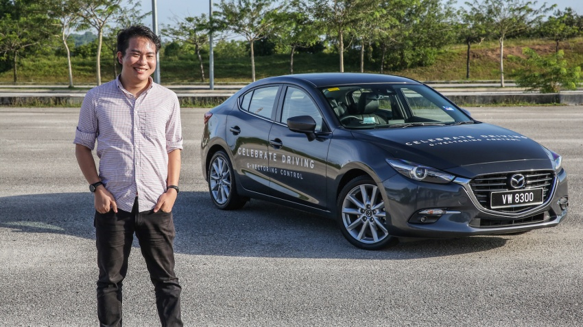 FIRST DRIVE: 2017 Mazda 3 with G-Vectoring Control Image #670906