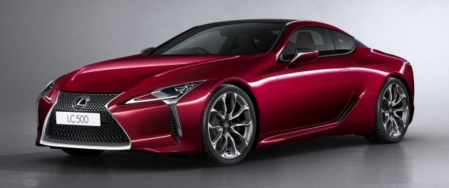 Lexus Lc 500 Open For Booking In Malaysia Rm940k