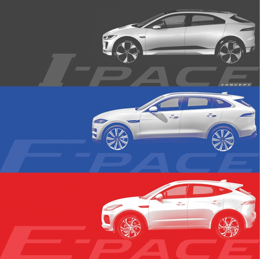 Jaguar E-Pace officially teased, debuts on July 13 Image #675292