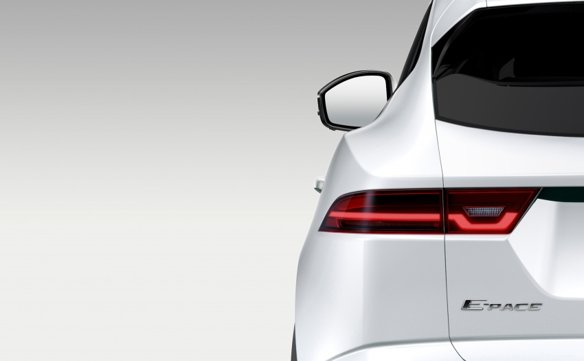 Jaguar E-Pace officially teased, debuts on July 13 Image #675171